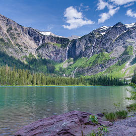Avalanche Lake by Adam Mateo Fierro