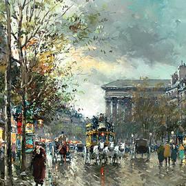 Avenue des Champs Elysees, Paris - Antoine Blanchard