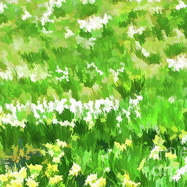 Awakening Spring Abstract by Regina Geoghan