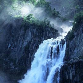 Stunning Geilo Waterfall by Kim Lessel