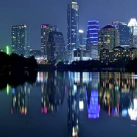 Skyline Photos of America - Awesome Night in Austin