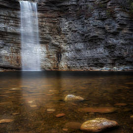 Awosting Falls by Bill Wakeley