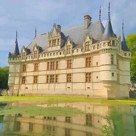 Nigel Fletcher-Jones - Azay-le-Rideau Chateau