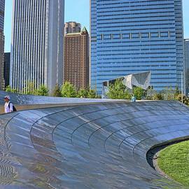 B P Bridge # 2 - Chicago by Allen Beatty