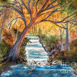 Babbling Brook by Anne Sands