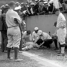 Jon Neidert - Babe Ruth knocked out by a wild pitch