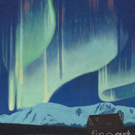 Stanza Widen - Babine Mountains Aurora