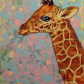 Michael Creese - Baby Giraffe
