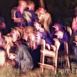 Bacchanalian Freak Show With Hieronymus Bosch Treatment by Lise Winne