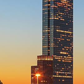 Juergen Roth - Back Bay Boston Sunset