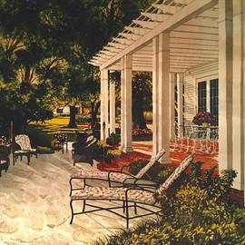 Back Porch by Mike King
