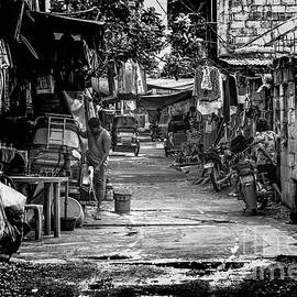 Back Streets in the Philippines by Donald Carr