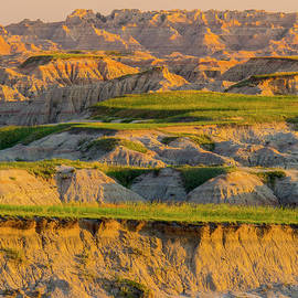 Badlands Vista Sunrise by Patti Deters