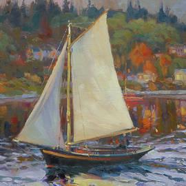 Bainbridge Island Sail by Steve Henderson