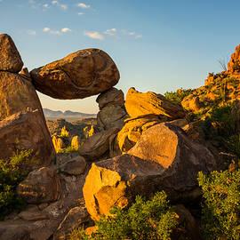 Brian Harig - Balanced Rock Sunrise 2 - Big Bend National Park - Texas