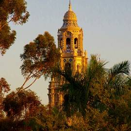 Balboa Park Bell Tower Orig. by Phyllis Spoor