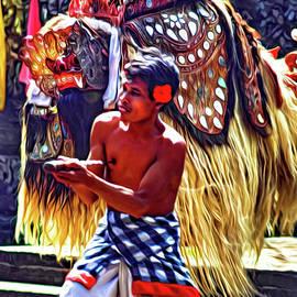 Steve Harrington - Bali Barong and Kris Dance  - Paint