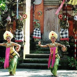 Balinese Dancers by Judith Gadbois