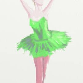 Arlene Babad - Ballet in Green 4