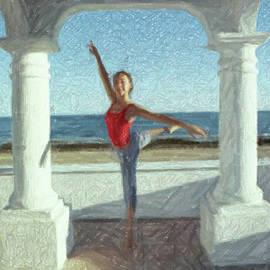 Umar Sharif Rep for Karl Stone Art - Ballet Mexico KS2-95A