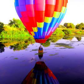 Jeff Swan - Balloon touching the water