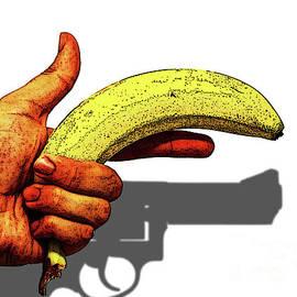 Banana Hand Gun by Toula Mavridou-Messer