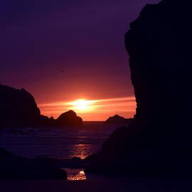 Michele Avanti - Bandon Beach Sunset