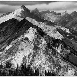 David Beebe - Banff Viewpoint BW