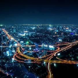 Jijo George - Bangkok cityscape