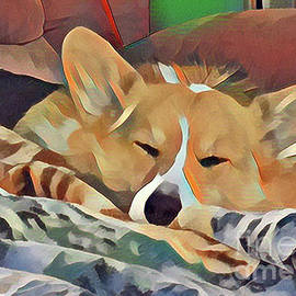 Banjo Sleeping by Kathy Kelly