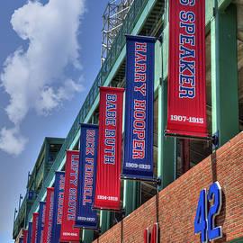 Joann Vitali - Banners of Glory - Fenway Park - Boston