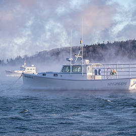 Edward Muennich - Bar Harbor Sea Smoke
