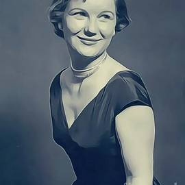 Barbara Bel Geddes, Vintage Actress - John Springfield