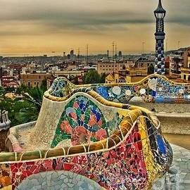 Barcelona Dream - Parc Guell by Susan Hendrich