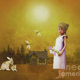 KaFra Art - Barefoot Country Girl