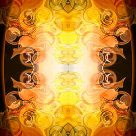 Omaste Witkowski - Barely Contained Excitement Abstract Organic Bliss Art by Omaste