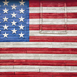 Craig Voth - Barn Flag