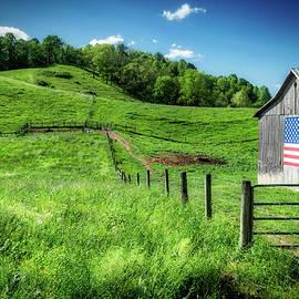 Barn Flag by Jim Love