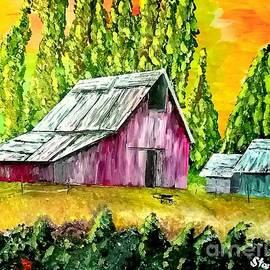 Irving Starr - Barn In A Field