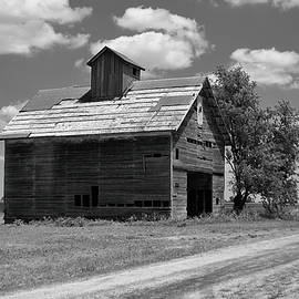 Tom Druin - Barn Scene ...black And White