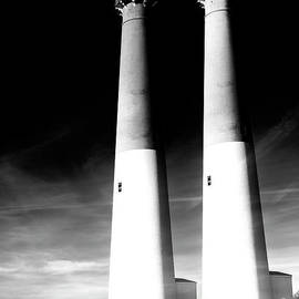 Barnegat Lighthouse Double Exposure by John Rizzuto