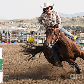 Vivian Christopher - Barrel Racer 1
