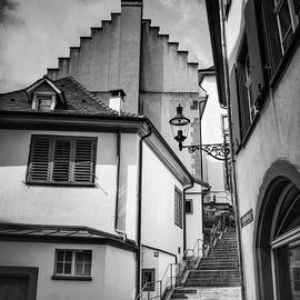 Basel Old Town in Black and White  - Carol Japp