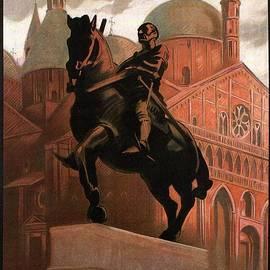 Studio Grafiikka - Basilica of Saint Anthony in Padua - Padova, Italy - Vintage Illustrated Poster