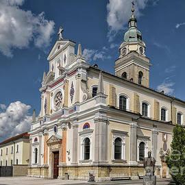 Basilica of St. Mary in Brezje by Norman Gabitzsch