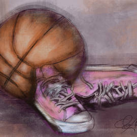Dani Abbott - Basketball and Pink Shoes