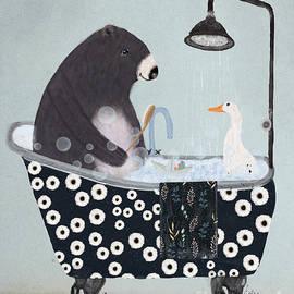 Bleu Bri - bath time