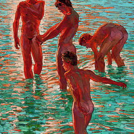 Sergey and Erwin Sovkov - Bathing in the Sun