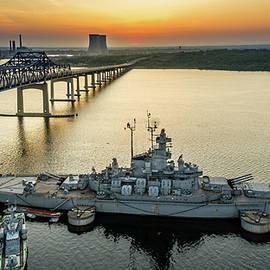 Eddy Bernardo - Battleship Cove Sunset