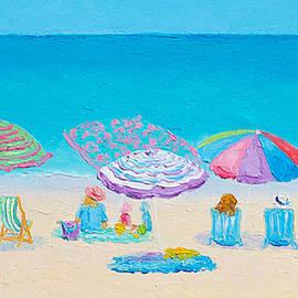 Beach Art - Live by the Sun by Jan Matson